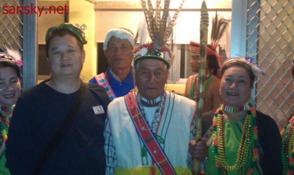 台湾之行第二天:阿美族 巴歌浪舞动之夜